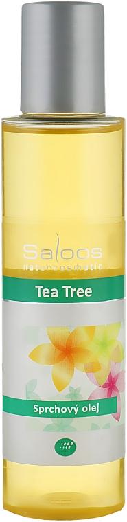 """Масло для душа """"Чайное дерево"""" - Saloos"""