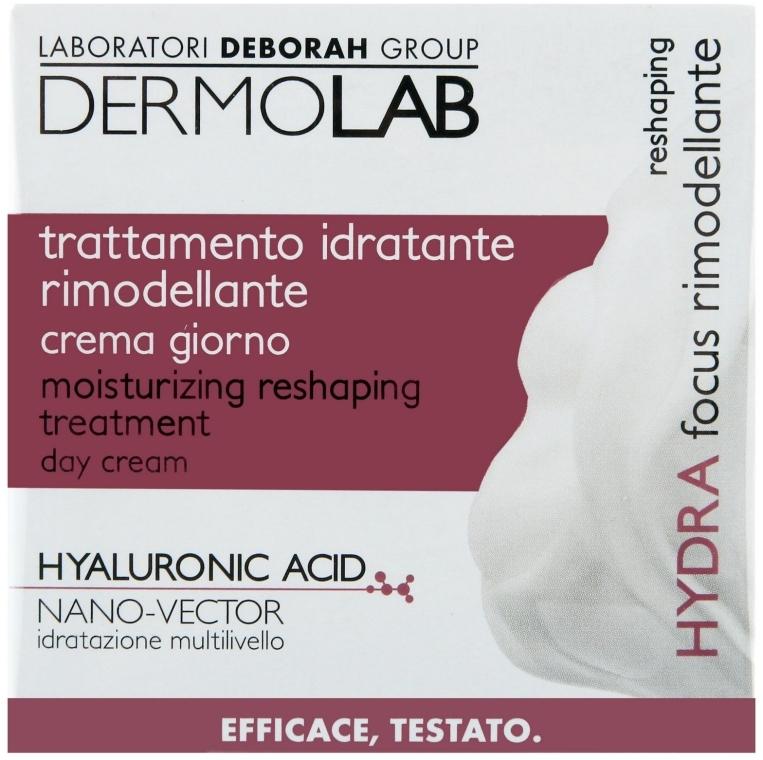 Дневной увлажняющий крем против морщин - Deborah Dermolab SPF10 Trattamento Idratante Rimodellante  — фото N1