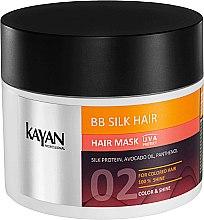 Духи, Парфюмерия, косметика Маска для окрашенных волос - Kayan Professional BB Silk Hair Hair Mask