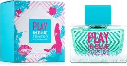 Духи, Парфюмерия, косметика Antonio Banderas Play In Blue Seduction For Women - Туалетная вода