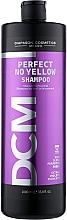Духи, Парфюмерия, косметика Антижелтый шампунь для волос - DCM Perfect No Yellow Shampoo