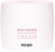 Духи, Парфюмерия, косметика Отбеливающий крем для лица - KenzoKi Plum Blossom Whitening Cocooning Cream
