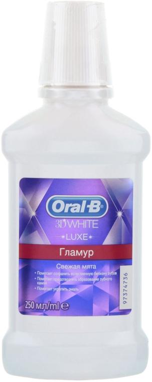 Ополаскиватель для рта - Oral-b 3D White Luxe