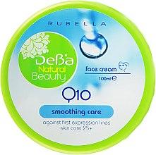 Духи, Парфюмерия, косметика Разглаживающий крем для лица - Rubella DeBa Natural Beauty Q10