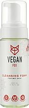 Духи, Парфюмерия, косметика Очищающая пенка для сухой кожи - Vegan Fox Cleansing Foam For Dry Skin