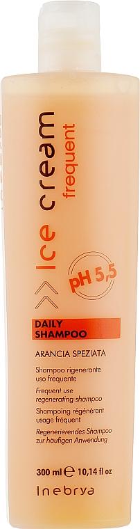 Шампунь для всех типов волос - Inebrya Frequent Ice Cream Daily Shampoo