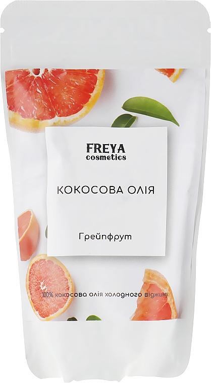 """Кокосовое масло """"Грейпфрут"""", дой-пак - Freya Cosmetics"""