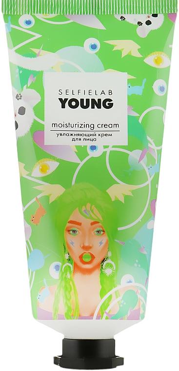 Крем увлажняющий для лица - Selfielab Young Moisturizing Cream