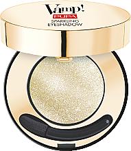 Духи, Парфюмерия, косметика Сияющие тени для век - Pupa Party On Vamp! Sparkling Eyeshadow