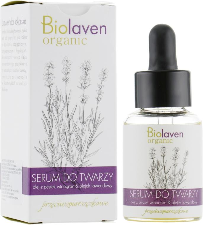Сыворотка против морщин для лица - Biolaven Face Serum