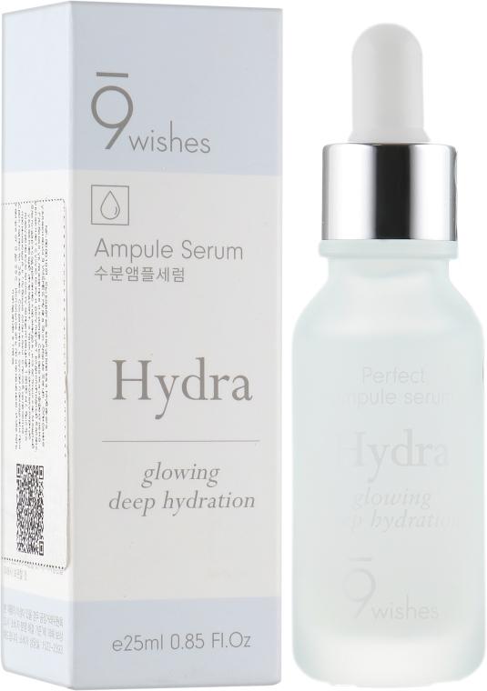 Сыворотка гиалуроновая для лица - 9 Wishes Hydra Skin Ampule Serum