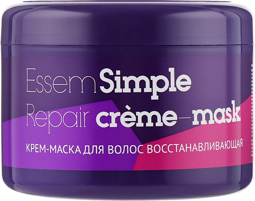 Крем-маска для волос восстанавливающая - Essem Simple Care Repair Cream-Mask