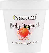 "Духи, Парфюмерия, косметика Йогурт для тела ""Персик"" - Nacomi Body Jogurt Peach Love"