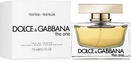 Dolce&Gabbana The One - Парфюмированная вода (тестер с крышечкой) — фото N2