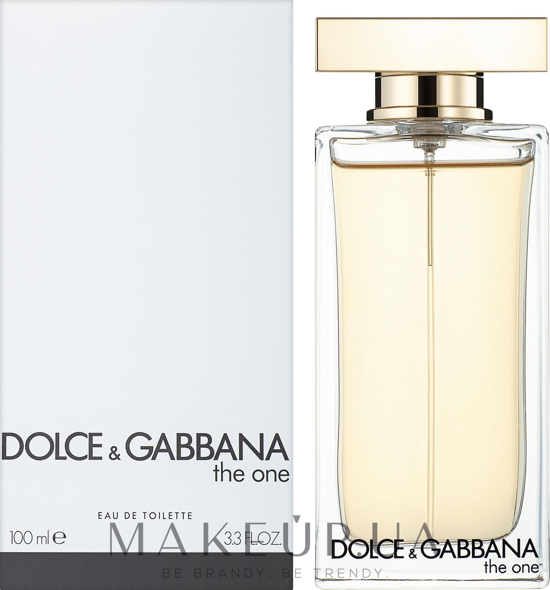 Dolce&Gabbana The One - Туалетна вода (тестер з кришечкою) — фото 100ml