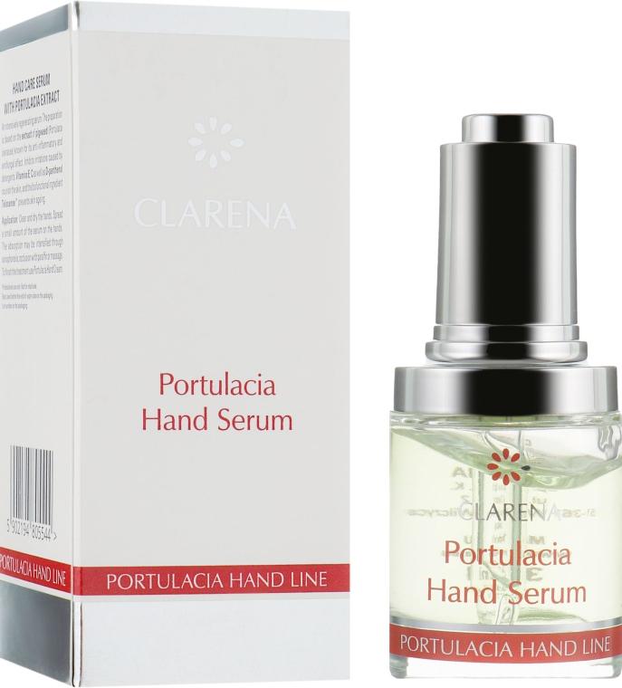 Сиворотка для шкіри рук з екстрактом портулаку - Clarena Sensual Hand Line Portulacia Hand Serum — фото N1