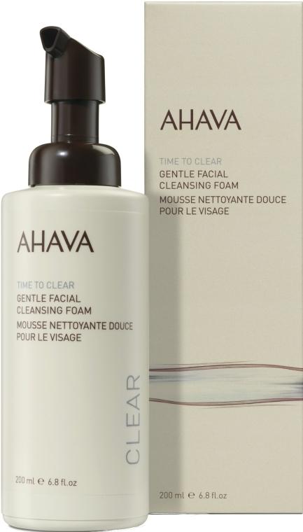 Нежная очищающая пенка для лица - Ahava Time to Clear Gentle Facial Cleansing Foam
