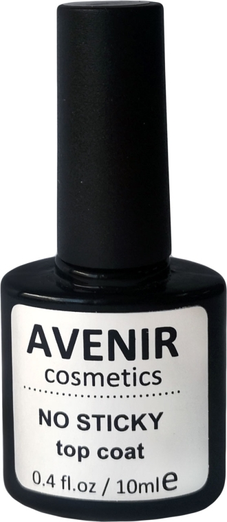 Гель-лак топ без липкого слоя - Avenir Cosmetics No Stiky Top Coat