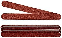 Духи, Парфюмерия, косметика Комплект двухсторонних пилочек для ногтей, 100/100, темно-бордовые - Peggy Sage 2-Way Washable Nail Files