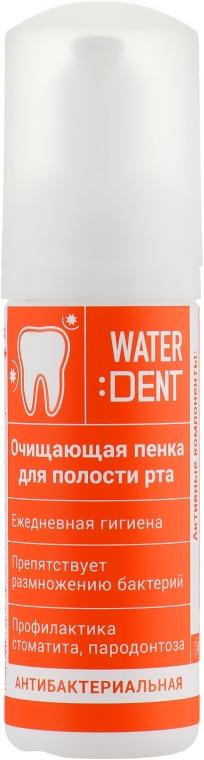 """Пенка для полости рта """"Антибактериальная"""" - Waterdent"""