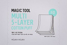 Духи, Парфюмерия, косметика Многослойные хлопковые салфетки - Holika Holika Magic Tool Multi Cotton Pads