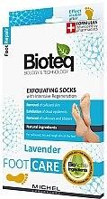 Духи, Парфюмерия, косметика Отшелушивающие носки для удаления натоптышей - Bioteq Exfoliating Socks Lavender
