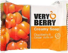 "Духи, Парфюмерия, косметика Крем-мыло ""Морошка и масло кедрового ореха"" - Very Berry Cloudberry & Cedar Nuts Oil Cremy Soap"