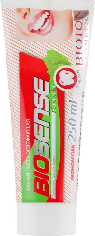 """Зубная паста """"Экстремальная мята"""" - Bioton Cosmetics Biosense Extreme Mint"""