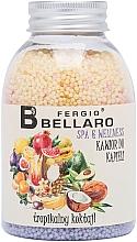 """Духи, Парфюмерия, косметика Смягчающие шарики для ванны """"Тропические фрукты"""" - Fergio Bellaro Tropical Cocktail Bath Caviar"""
