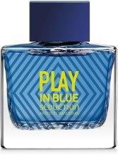 Antonio Banderas Play In Blue Seduction For Men - Туалетная вода — фото N2