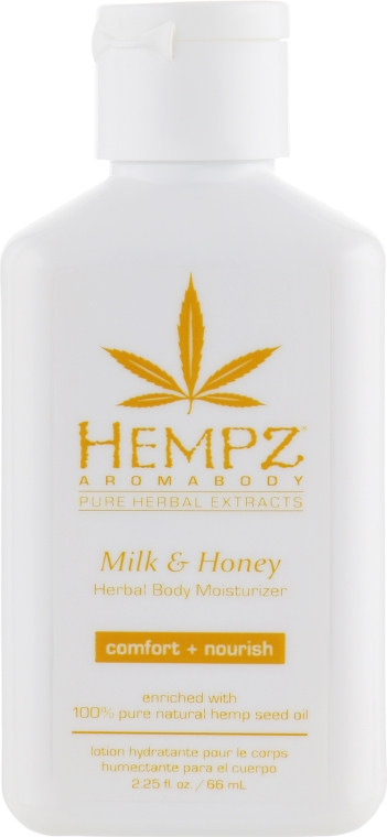 "Молочко для тела ""Молоко и Мёд"" - Hempz Milk And Honey Herbal Body Moisturizer"