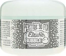 Омолаживающий пузырьковый крем для лица - Elizavecca Peptide 3D Fix Elastic Bubble Facial Cream — фото N2