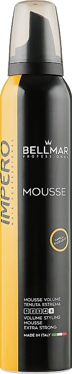 Мусс для придания объема, экстрасильной фиксации - Bellmar Impero Professional Volume Styling Mousse