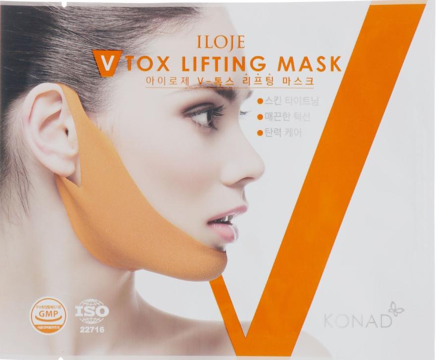 Корректирующая лифтинг-маска от второго подбородка - Konad Iloje V Tox Lifting Mask