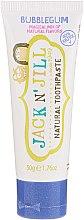 Парфумерія, косметика Дитяча зубна паста зі смаком жуйки - Jack N' Jill