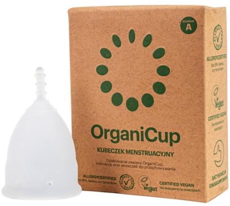 Менструальная чаша, размер А - Organicup