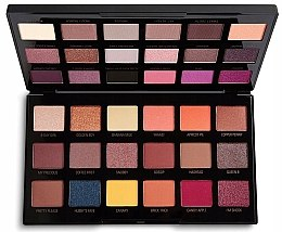 Палетка теней для век - Makeup Revolution X Petra 36 Shade Eyeshadow Palette — фото N2