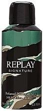 Духи, Парфюмерия, косметика Replay Signature For Men Replay - Дезодорант