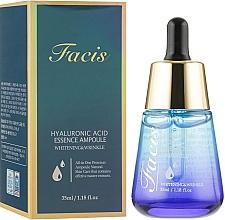 Духи, Парфюмерия, косметика Сыворотка для лица - Facis Hyaluronic Acid Essence Ampoule