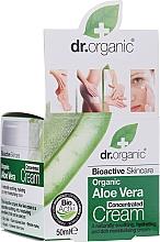 Духи, Парфюмерия, косметика Концентрированный крем с алоэ вера - Dr.Organic Bioactive Skincare Aloe Vera Concentrated Cream