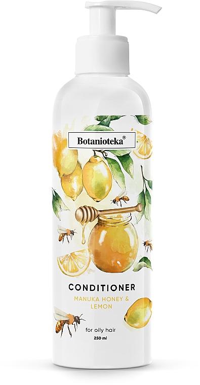 """Кондиционер для жирных волос """"Лимон и мед манука"""" - Botanioteka Conditioner For Oily Hair"""