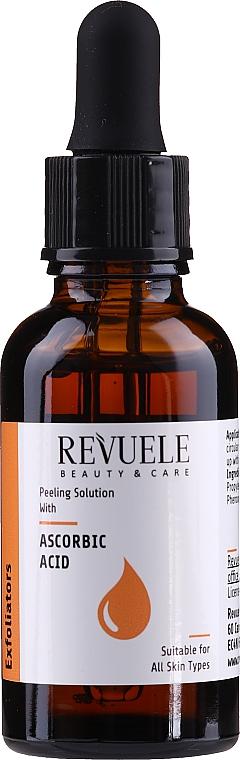 Пилинг с аскорбиновой кислотой - Revuele Peeling Solution Ascorbic Acid Exfoliator