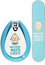 Духи, Парфюмерия, косметика Маникюрный набор детский, голубой - Beter Mini-Cure Pink