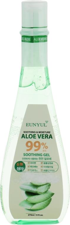 Гель на основе алоэ вера, многофункциональный - Eunyul Aloe vera Soothing Gel 99%