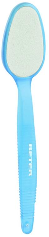 Шліфувальник-наждак для стоп, кераміка, блакитний - Beter Beauty Care — фото N1