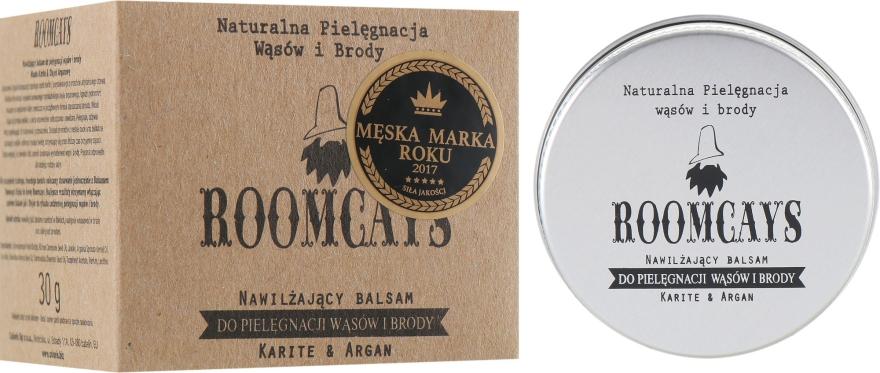 Бальзам для усов и бороды с маслом карите - Roomcays