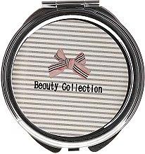 Духи, Парфюмерия, косметика Зеркальце круглое 85598, в полоску - Top Choice Beauty Collection Mirror