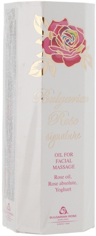 Масло для массажа лица - Bulgarian Rose Signature Oil For Facial Massage