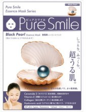 """Духи, Парфюмерия, косметика Маска для лица №038 """"Black Perl"""" - Pure Smile Essence mask Black Perl"""