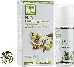 Духи, Парфюмерия, косметика Крем для лица с диктамелией и экстрактом морских водорослей - BIOselect Men's Hydrating Cream